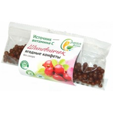 Ягодные конфеты – фитодраже «Шиповничек» (50г) Энергия Жизни