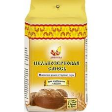 Смесь цельнозерновая пшенично-ржано-отрубная «Дивинка» (700г)