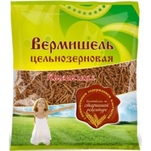 Вермишель цельнозерновая пшеничная Дивинка (350г)
